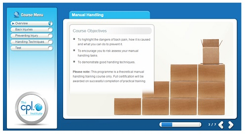 Online Manual Handling