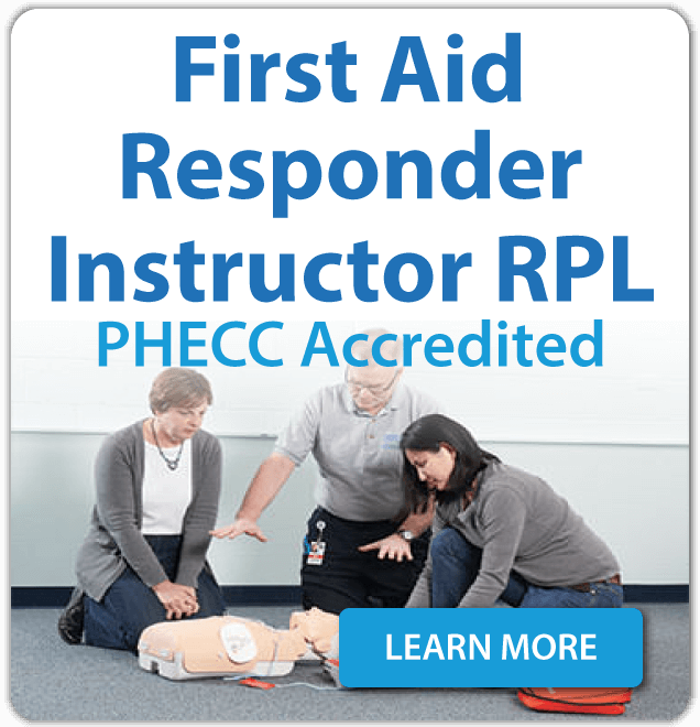 First Aid Responder Instructor RPL