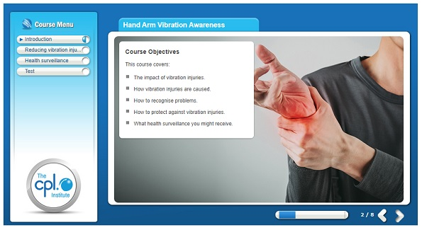 Hand Arm Vibration Awareness